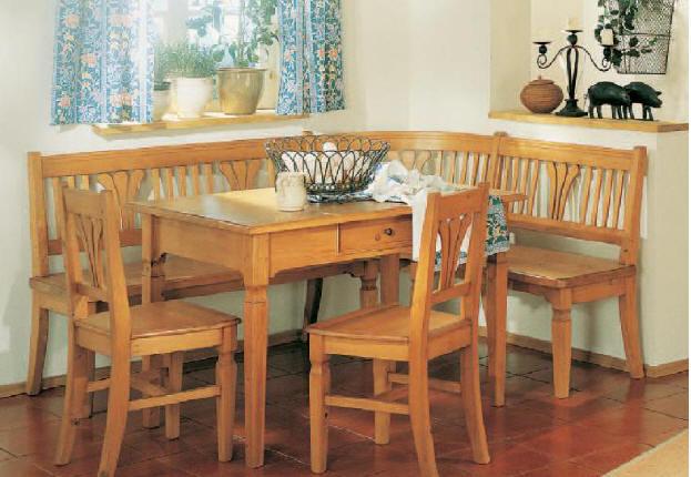 Eckbank Landhausstil Shop ~ Stühle und Bänke Kiefer  Massivholzmöbel DAM 2000