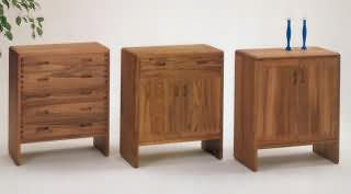 kommoden niels bach massivholzm bel dam 2000. Black Bedroom Furniture Sets. Home Design Ideas