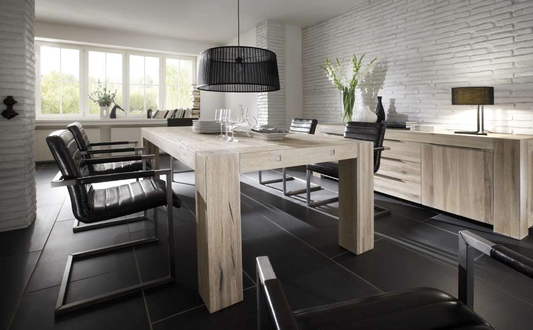 esstische eiche massiv massivholzm bel dam 2000. Black Bedroom Furniture Sets. Home Design Ideas