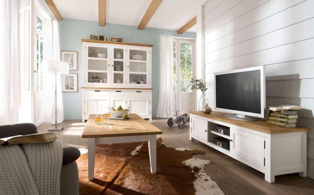 landhausm bel wohnzimmer. Black Bedroom Furniture Sets. Home Design Ideas