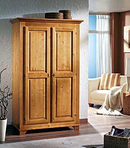 kleiderschr nke fichte. Black Bedroom Furniture Sets. Home Design Ideas
