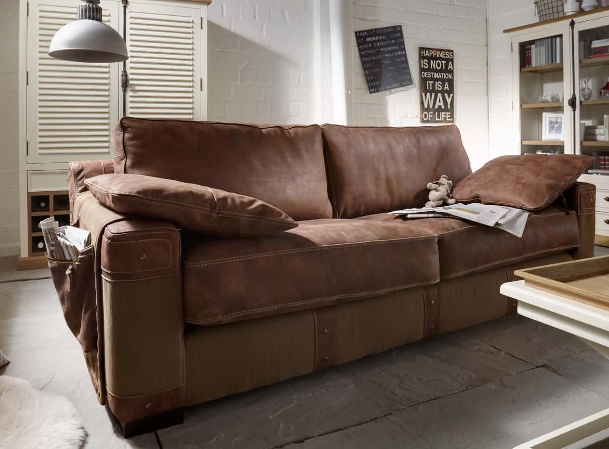 Sofa landhausstil leder  Ecksofa Landhausstil Leder: Designer couch u2013 modernes sofa ...
