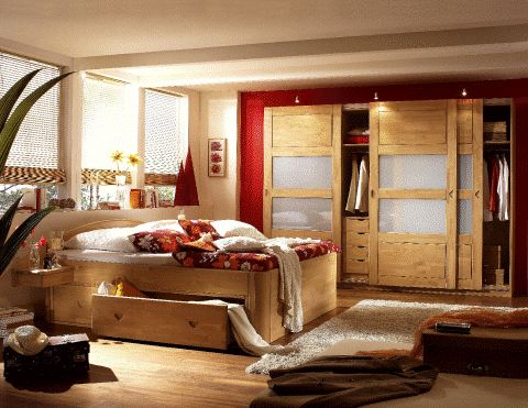 kiefer schlafzimmer betten kleiderschr nke. Black Bedroom Furniture Sets. Home Design Ideas
