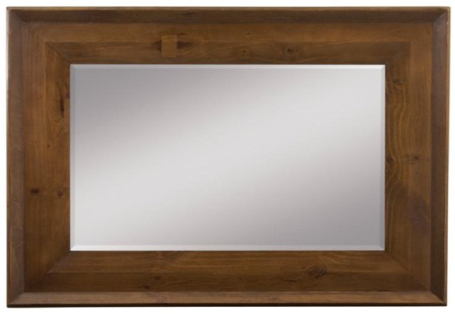 spiegel mit massivholzrahmen. Black Bedroom Furniture Sets. Home Design Ideas