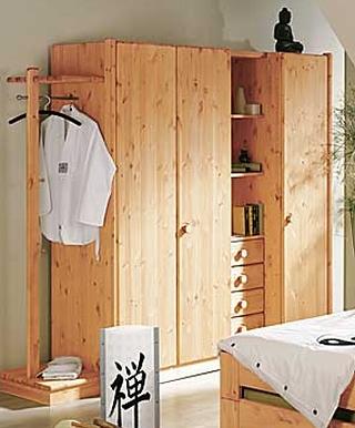 kleiderschr nke scandinavia kiefer. Black Bedroom Furniture Sets. Home Design Ideas