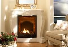 dekokamine mit elektrischem feuer oder echter flamme. Black Bedroom Furniture Sets. Home Design Ideas
