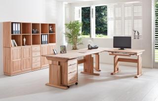 schreibtisch massivholz. Black Bedroom Furniture Sets. Home Design Ideas