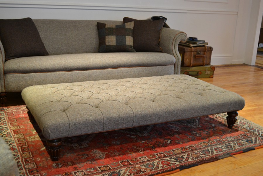 Harris Tweed Sofas Made In England