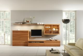 v m bel wohnwand. Black Bedroom Furniture Sets. Home Design Ideas