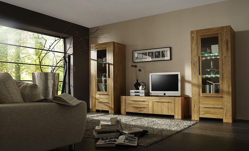 tv m bel eiche massivholzm bel dam 2000. Black Bedroom Furniture Sets. Home Design Ideas