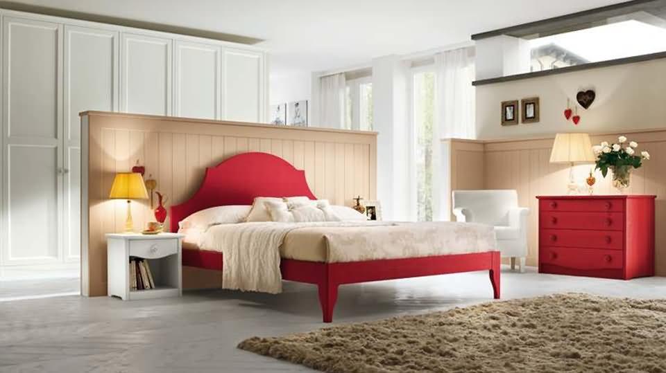 Schlafzimmer Landhausstil - Massivholzmöbel DAM 2000