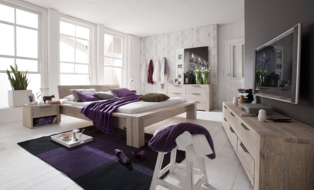 schlafzimmer eiche massivholzm bel dam 2000. Black Bedroom Furniture Sets. Home Design Ideas