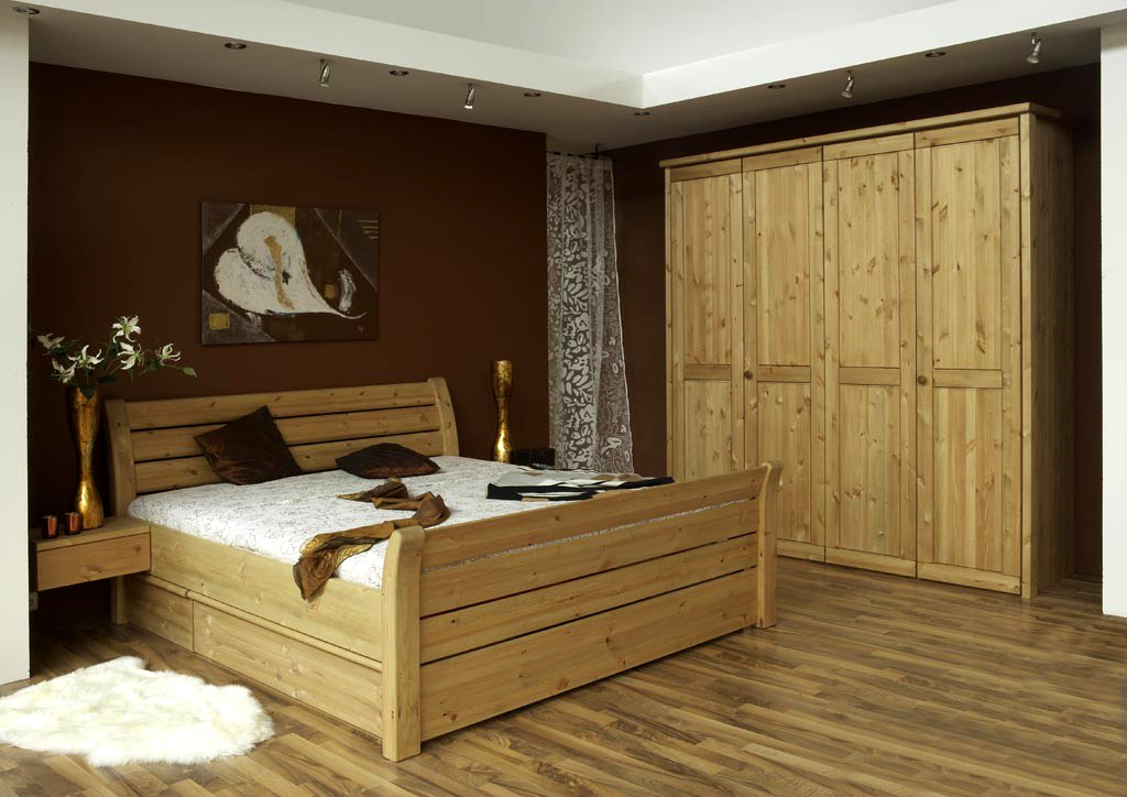 schlafzimmer kiefer massivholzm bel dam 2000. Black Bedroom Furniture Sets. Home Design Ideas