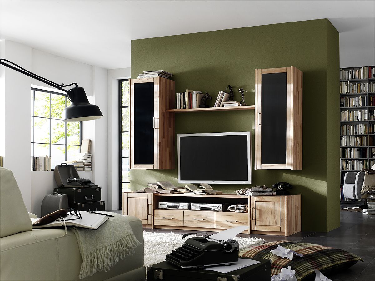 tv m bel buche massivholzm bel dam 2000. Black Bedroom Furniture Sets. Home Design Ideas