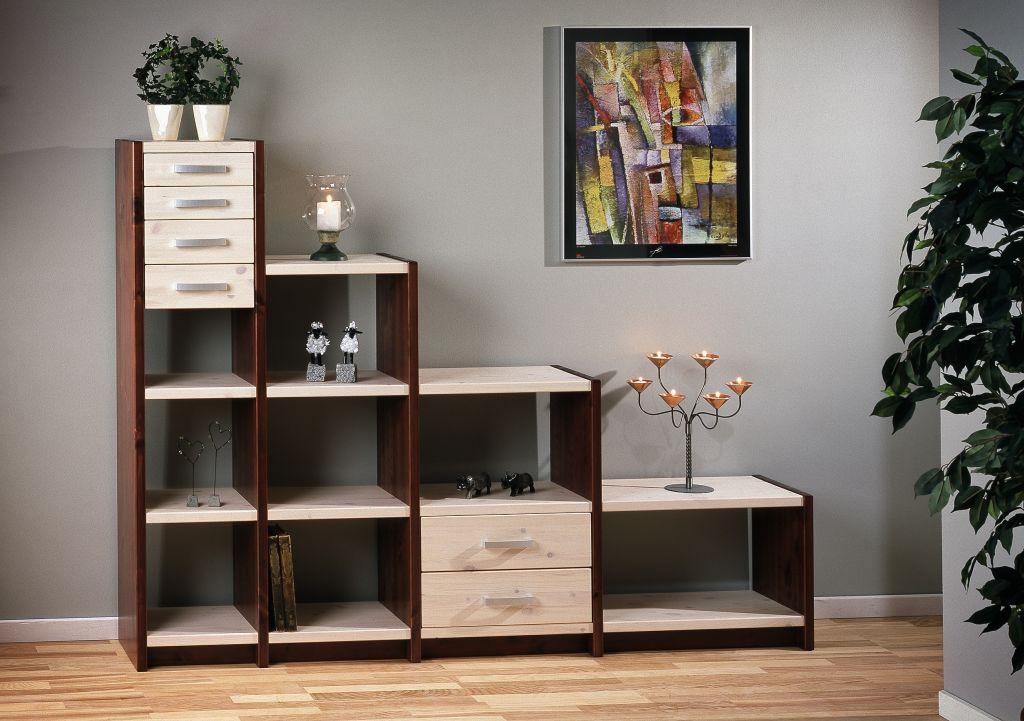 wohnw nde in buche kernbuche massivholzm bel dam 2000. Black Bedroom Furniture Sets. Home Design Ideas