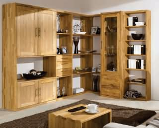 paspatu wohnwand massivholzm bel dam 2000. Black Bedroom Furniture Sets. Home Design Ideas