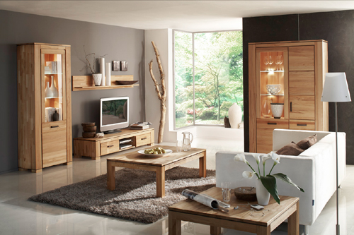 wohnw nde in buche kernbuche massivholzm bel dam 2000. Black Bedroom Furniture Sets. Home Design Ideas