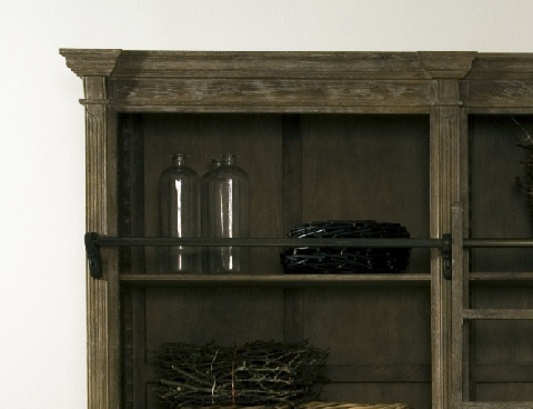 Bibliothekswand Cambridge, Rustic Oak - DAM 2000 Ltd. & Co KG