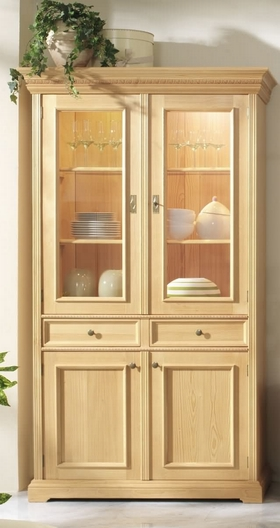 vitrine fichte 2 trg victoria dam 2000 ltd co kg. Black Bedroom Furniture Sets. Home Design Ideas
