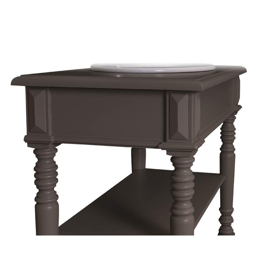 waschtisch mit gedrechselten beinen inkl 1 becken dam 2000 ltd co kg. Black Bedroom Furniture Sets. Home Design Ideas