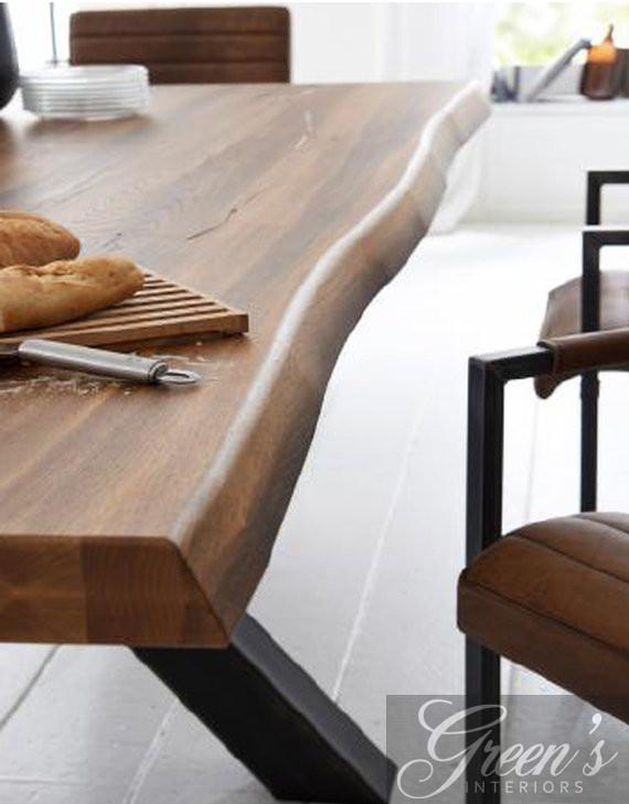 esstisch chicago balkeneiche dam 2000 ltd co kg. Black Bedroom Furniture Sets. Home Design Ideas