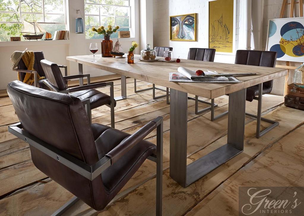 esstisch houston balkeneiche dam 2000 ltd co kg. Black Bedroom Furniture Sets. Home Design Ideas