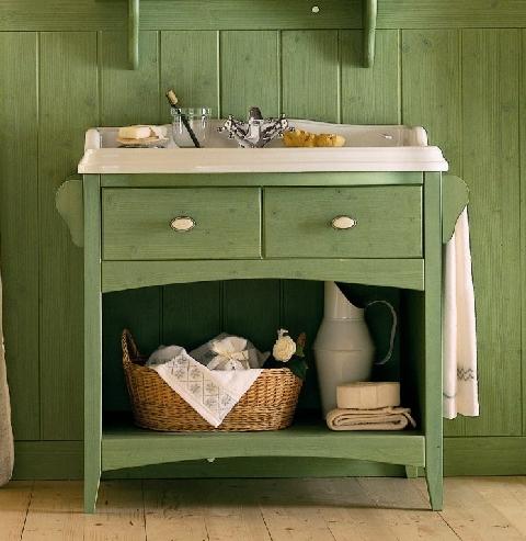 waschtisch landhaus mit keramikbecken dam 2000 ltd. Black Bedroom Furniture Sets. Home Design Ideas