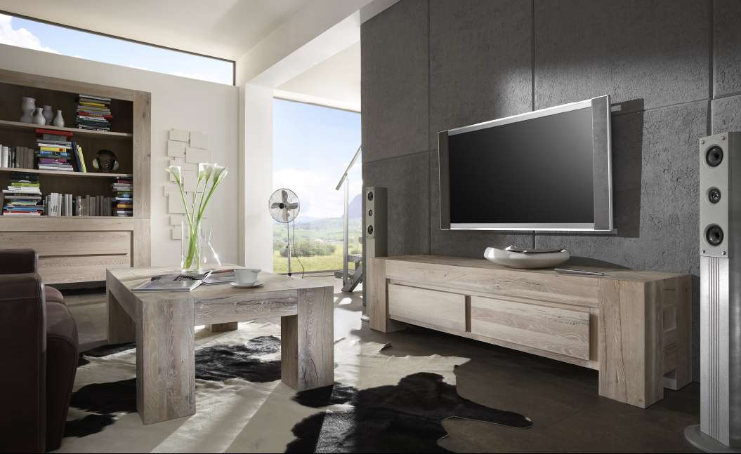 tv lowboard boston balkeneiche dam 2000 ltd co kg. Black Bedroom Furniture Sets. Home Design Ideas