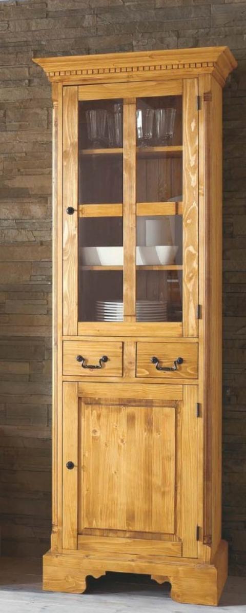 vitrine fichte massiv oxford cardiff dam 2000 ltd. Black Bedroom Furniture Sets. Home Design Ideas