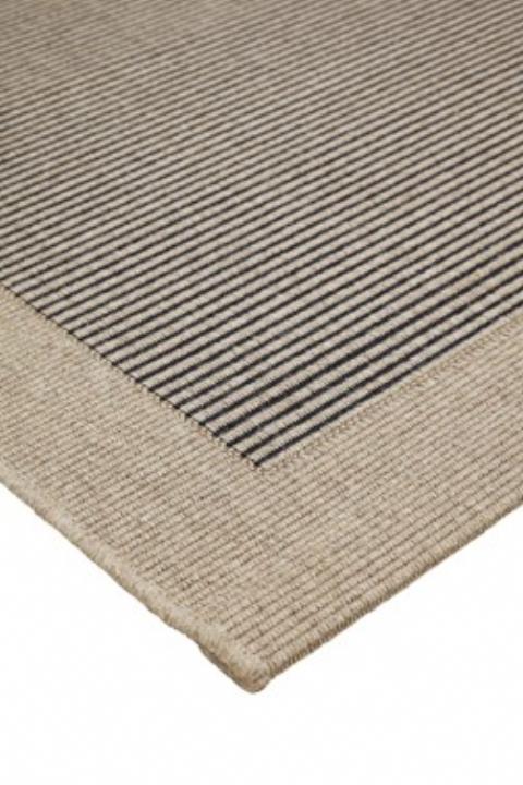 Teppich Wolle, Streifen  DAM 2000 Ltd & Co KG