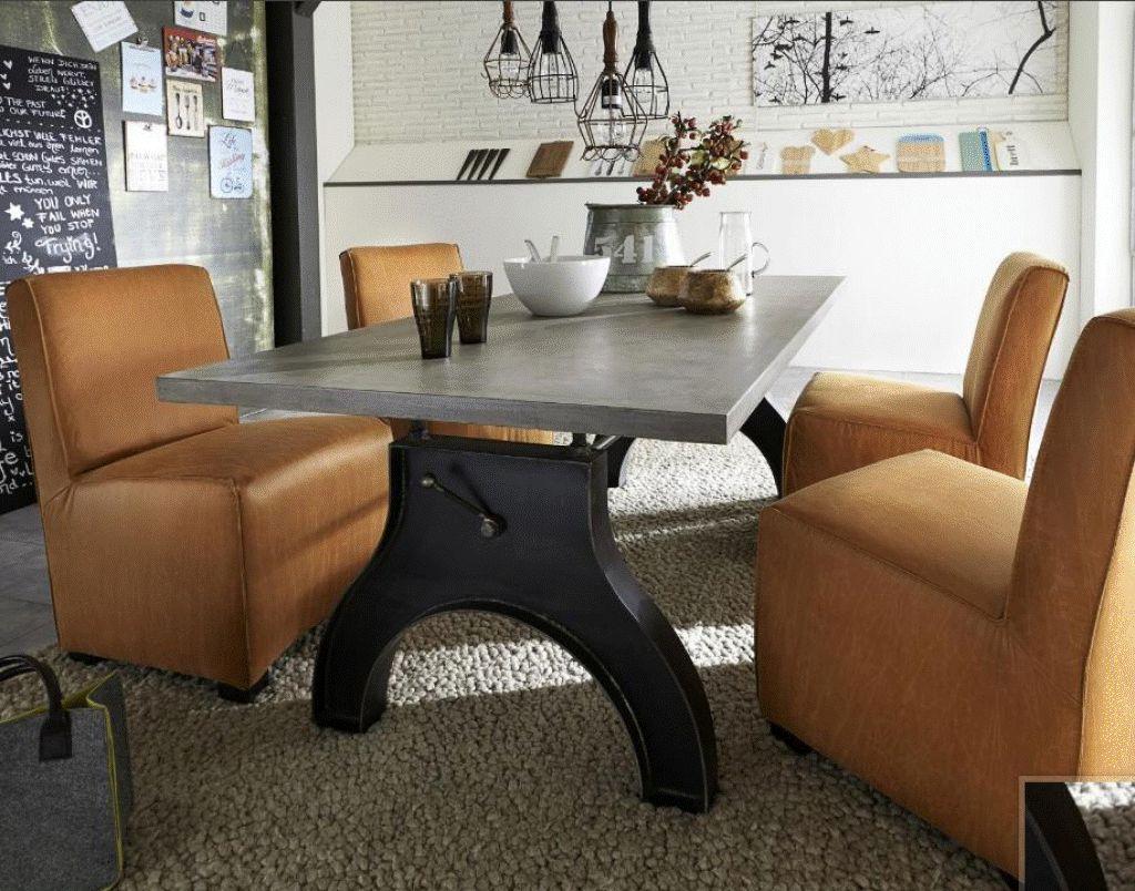 esstisch steel wildeiche beton stahlbein dam 2000 ltd co kg. Black Bedroom Furniture Sets. Home Design Ideas