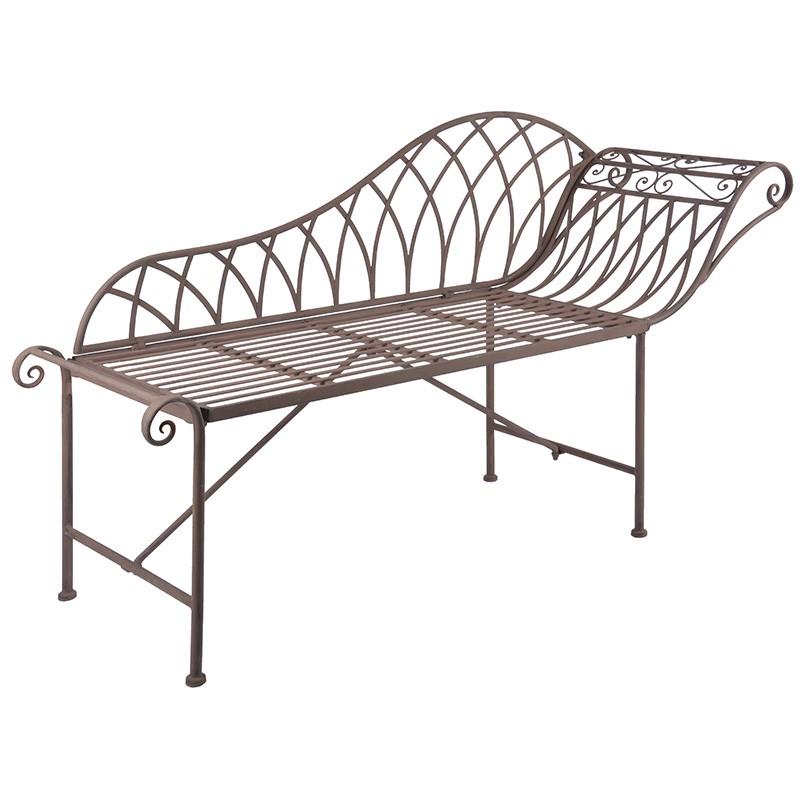 gartenliege chaiselongue metall dam 2000 ltd co kg. Black Bedroom Furniture Sets. Home Design Ideas