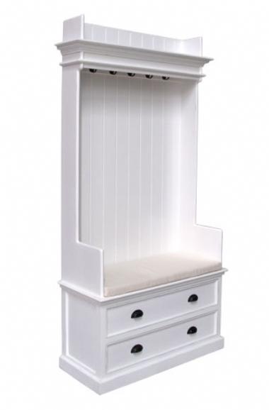 garderobe vintage wei my blog. Black Bedroom Furniture Sets. Home Design Ideas