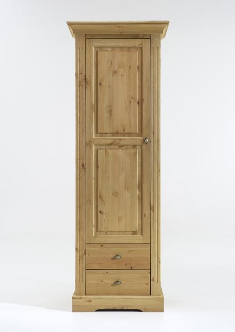 vitrine schmal amrum kiefer massiv landhaus dam 2000 ltd co kg. Black Bedroom Furniture Sets. Home Design Ideas