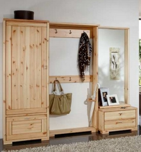 garderobe guldborg kiefer massiv dam 2000 ltd co kg. Black Bedroom Furniture Sets. Home Design Ideas