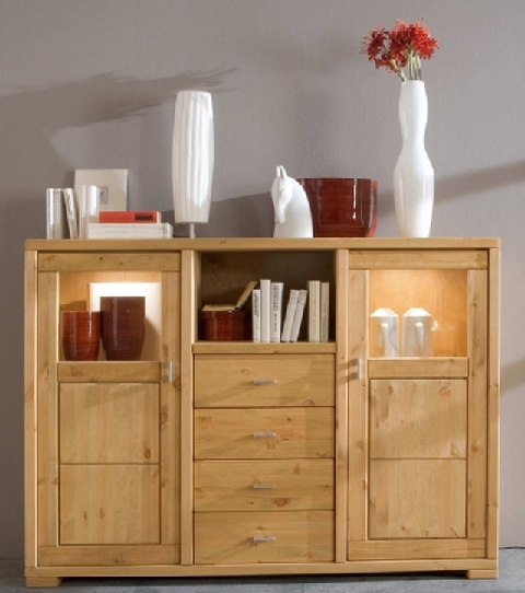 onlineshop highboard guldborg kiefer massiv dam 2000 ltd co kg. Black Bedroom Furniture Sets. Home Design Ideas