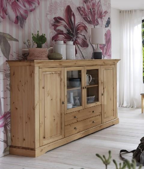 highboard amrum kiefer massiv landhaus dam 2000 ltd co kg. Black Bedroom Furniture Sets. Home Design Ideas