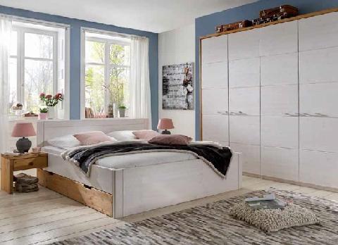 kiefer bett mit schubk sten rauna hoch dam 2000 ltd co kg. Black Bedroom Furniture Sets. Home Design Ideas
