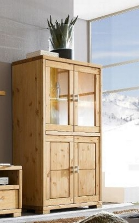 highboard vitrine guldborg kiefer massiv dam 2000 ltd co kg. Black Bedroom Furniture Sets. Home Design Ideas