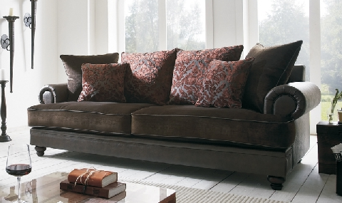 Sofa Landhausstil Leder