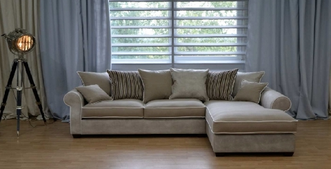 Sofa landhausstil leder  Sofa Montreal-Diwan, Landhaus - DAM 2000 Ltd. & Co KG