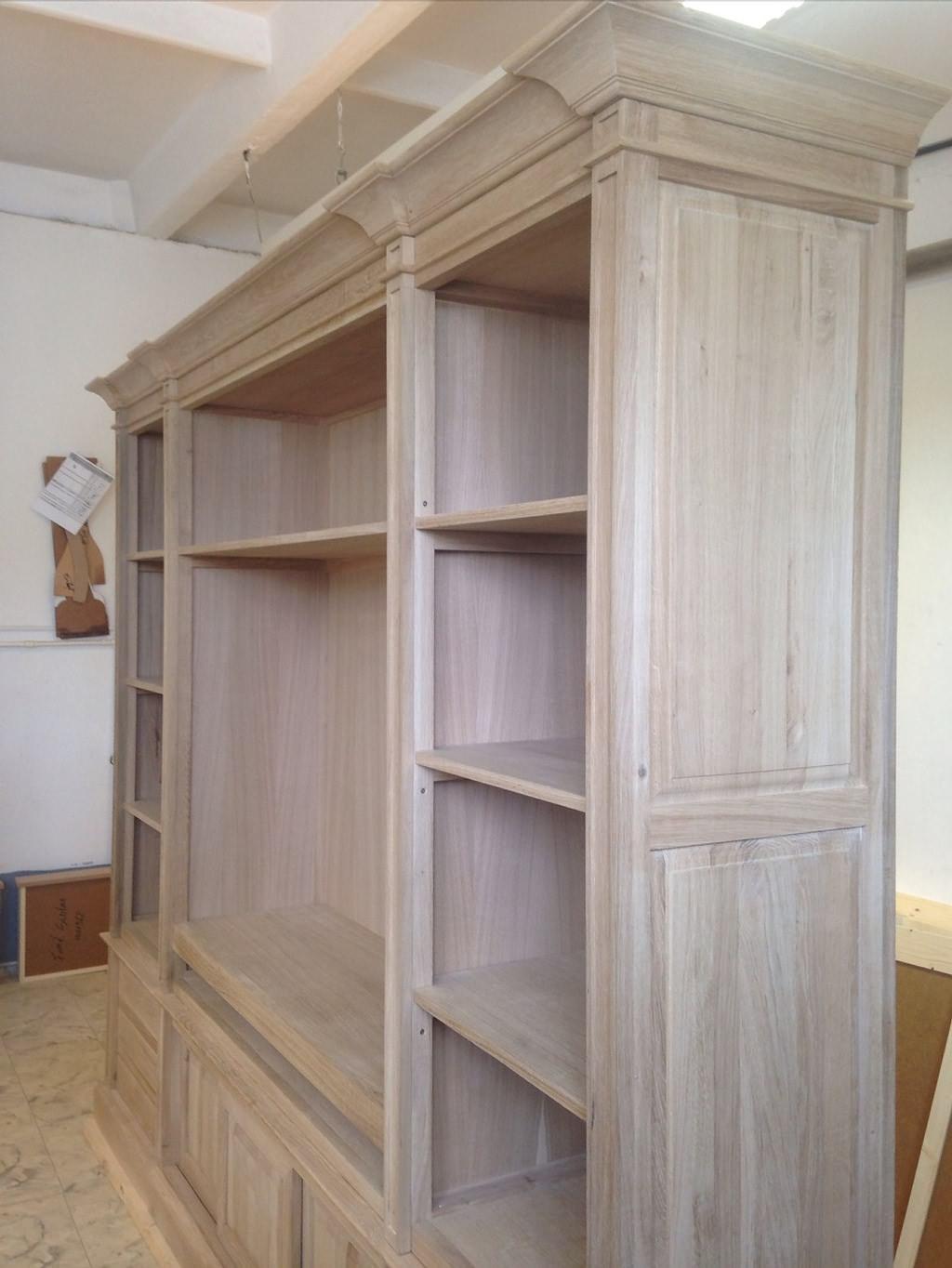 bibliothekswand castle eiche landhaus country dam 2000 ltd co kg. Black Bedroom Furniture Sets. Home Design Ideas