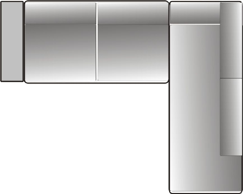 ecksofa mit ottomane husse modell sabien dam 2000 ltd co kg. Black Bedroom Furniture Sets. Home Design Ideas