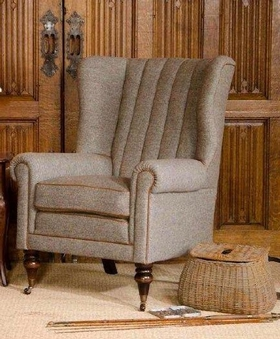 sessel dunmore harris tweed dam 2000 ltd co kg. Black Bedroom Furniture Sets. Home Design Ideas