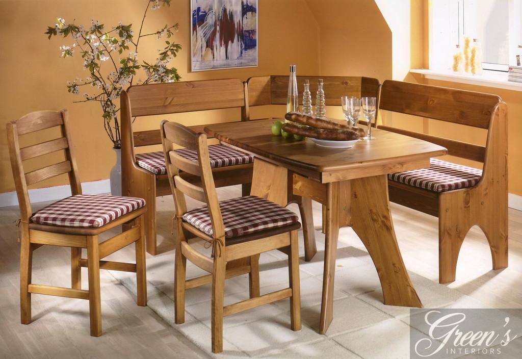 eckbank massiv kiefer. Black Bedroom Furniture Sets. Home Design Ideas
